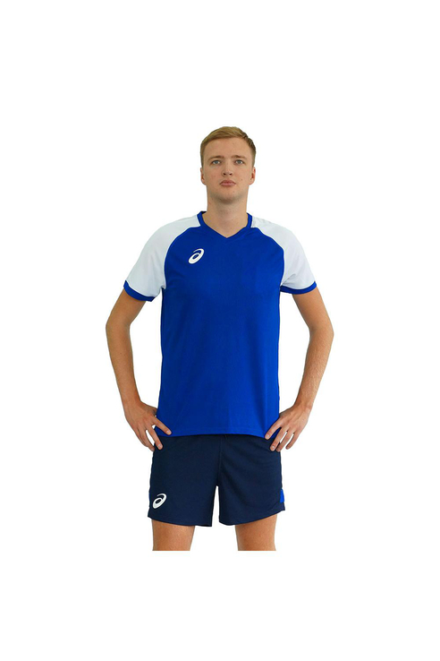 Купить ASICS 156851 0805 MAN VOLLEYBALL V-NECK SET Форма волейбольная, Шри-ланка, Мультиколор, 86% полиэстер, 14% эластан