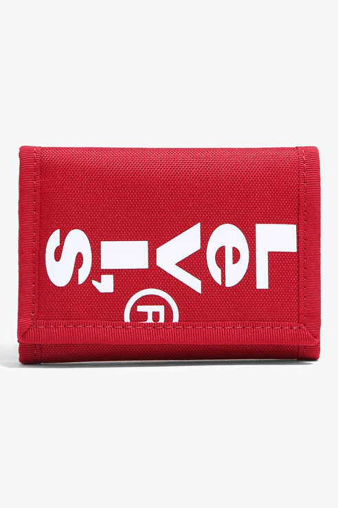 Кошелек Red Tab Trifold Wallet
