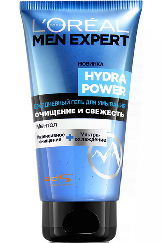 Гель для умывания Men Expert Hydra Power Ментол
