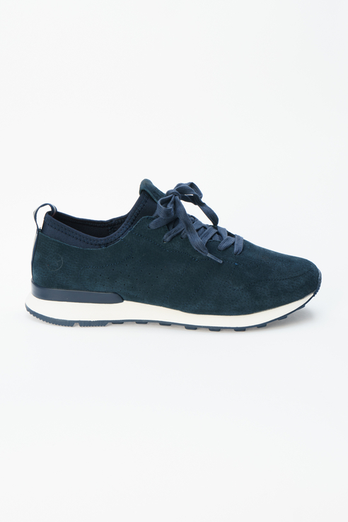 Кроссовки Low Leather Sneaker 6 Navy