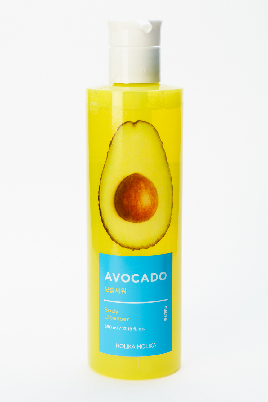 Гель для душа с авокадо Avocado Body Cleanser Holika Holika Цвет: Без цвета