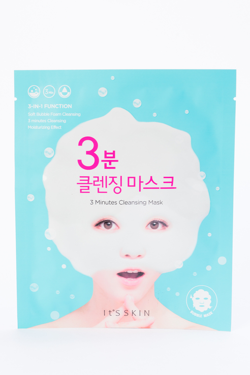 It's Skin 3 Minutes Cleansing Mask 1 sheet