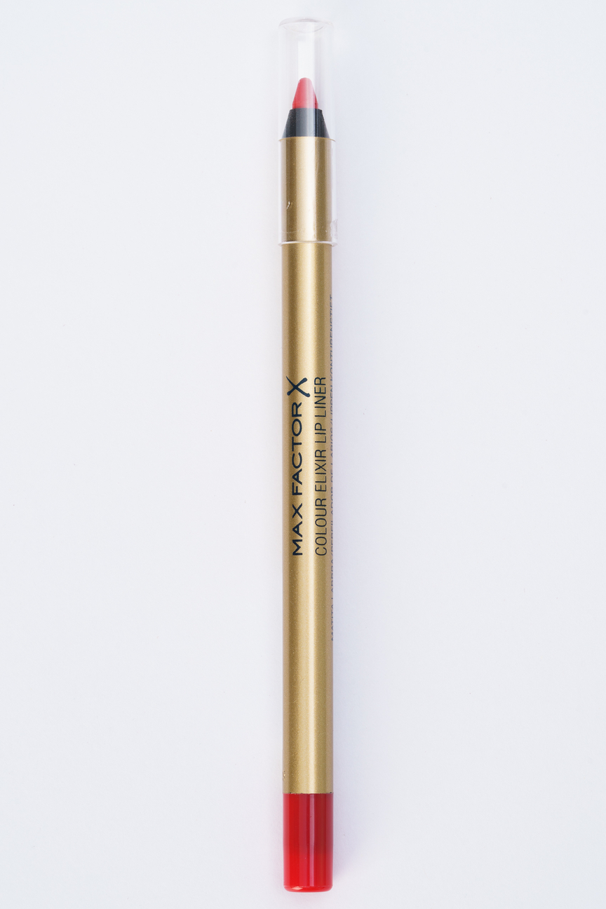 Карандаш для губ Colour Elixir Lip Liner red rush, 10 тон Max Factor Цвет: Красный