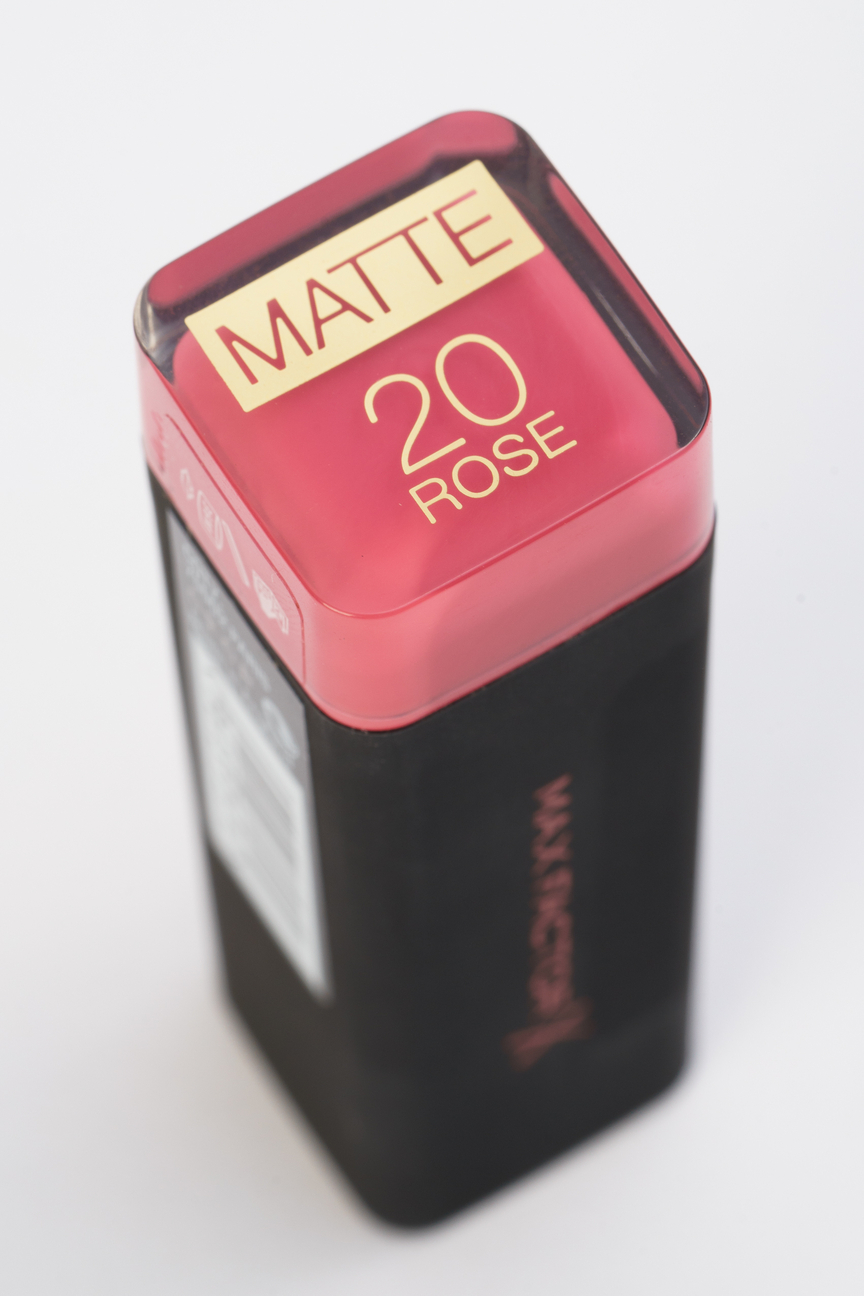 Губная помада Velvet Mattes Collection rose, 20 тон Max Factor Цвет: Розовый
