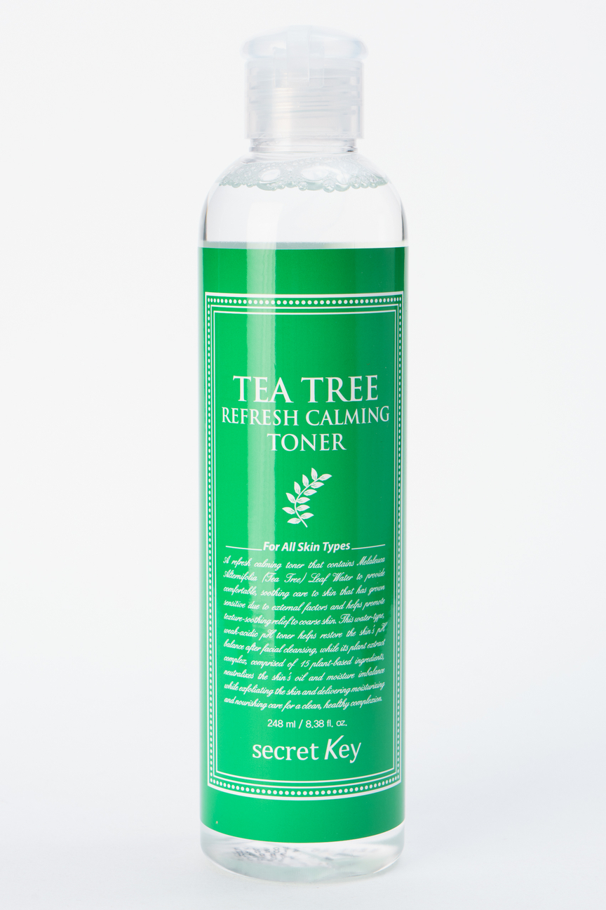 Освежающий тонер для лица с экстрактом чайного дерева Tea Tree Refresh Calming Toner Secret Key Цвет: Без цвета