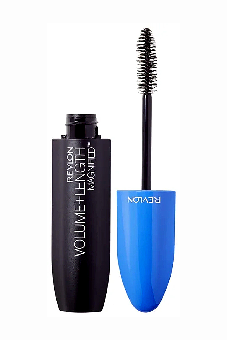 Тушь объем+длина Mascara Volume + Length Magnified Nwp Blackest black 301 Revlon Цвет: Черный