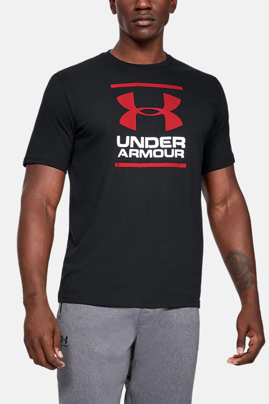 Футболка UA GL Foundation SS Under Armour Цвет: Черный