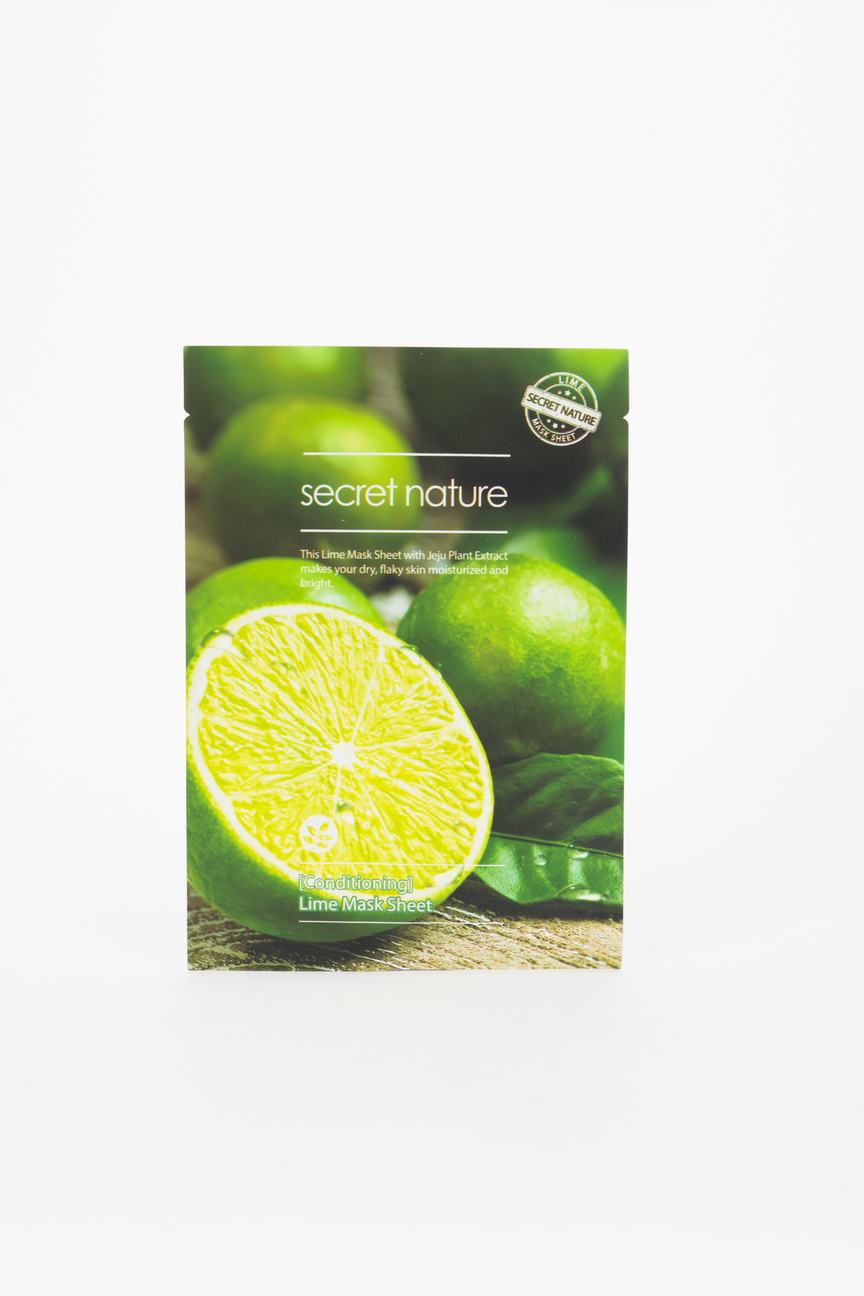 Тканевая маска для лица с лаймом Secret Nature Conditioning Lime Secret Nature Цвет: Нет цвета