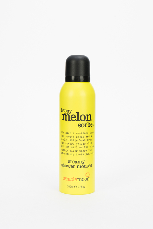 Мусс для душа Happy Melon Sorbet Shower Mousse, дынный сорбет, 200 мл