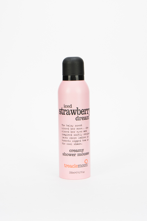Мусс для душа Iced Strawberry Dream Shower Mousse, клубничный смузи, 200 мл