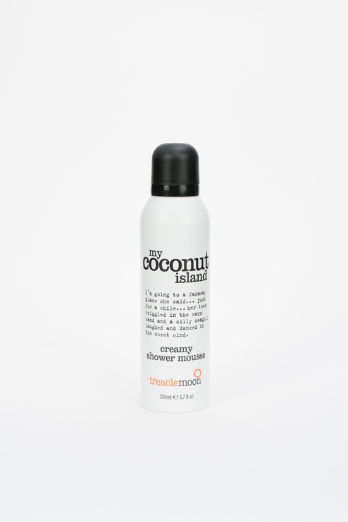 Мусс для душа My Coconut Island Shower Mousse, кокосовый рай, 200 мл