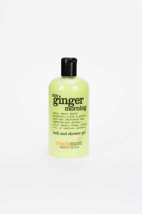Гель для душа One Ginger Morning Bath & Shower Gel, бодрящий имбирь, 500 мл