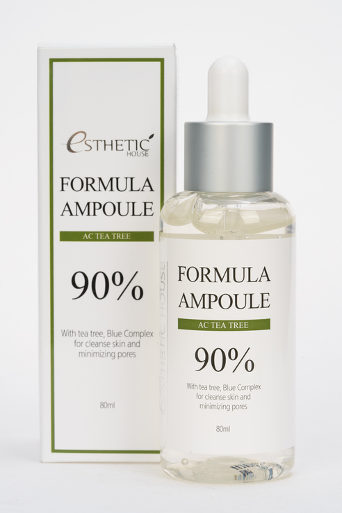 Сыворотка для лица с чайным деревом Formula Ampoule AC Tea Tree 90%, 80 мл