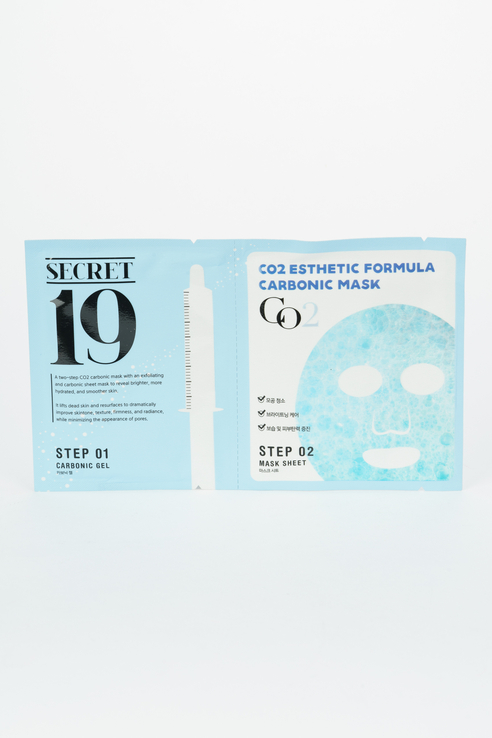 Маска-активатор для карбокситерапии для лица CO2 Esthetic Formula Carbonic Mask, 15 мл