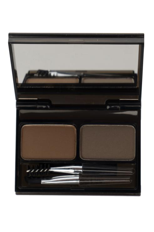 Палетка для бровей It's Top Professional Eyebrow Cake, оттенок 02 choco brown + gray brown